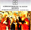 Albrechtsberger - M. Haydn Messen - Cover